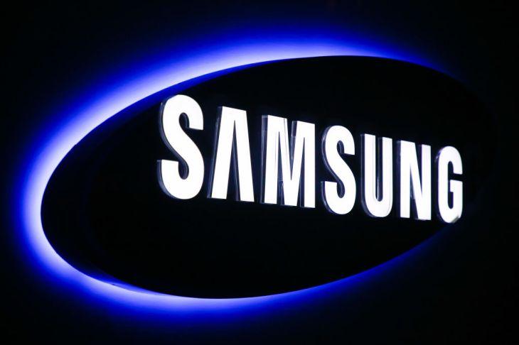 Samsung logo at Samsung Customer Service Center in Krakow, Poland on 11 January, 2019. (Photo by Beata Zawrzel/NurPhoto via Getty Images)