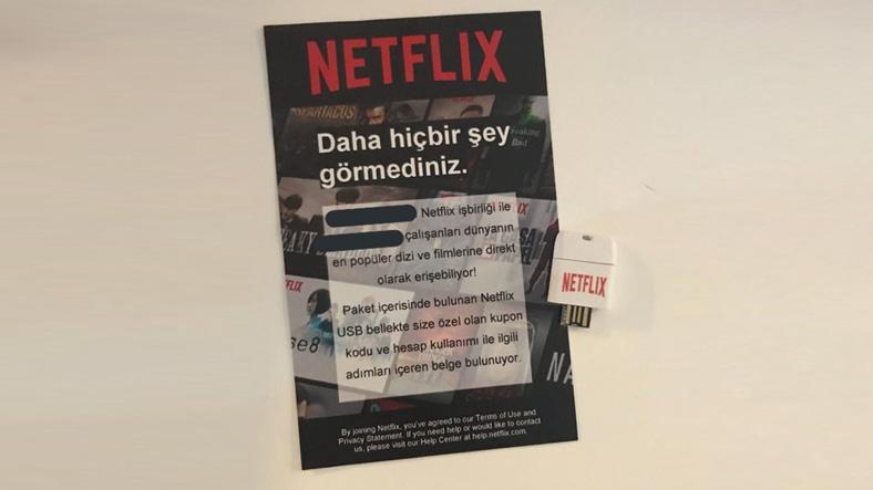 Netflix USB Bellek