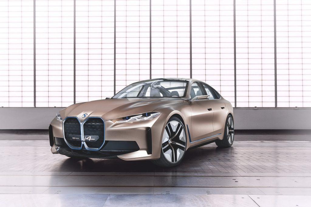 BMW Concept i4 Ön Kısmı