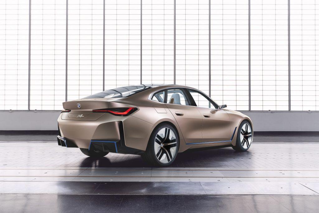 BMW Concept i4 Arka