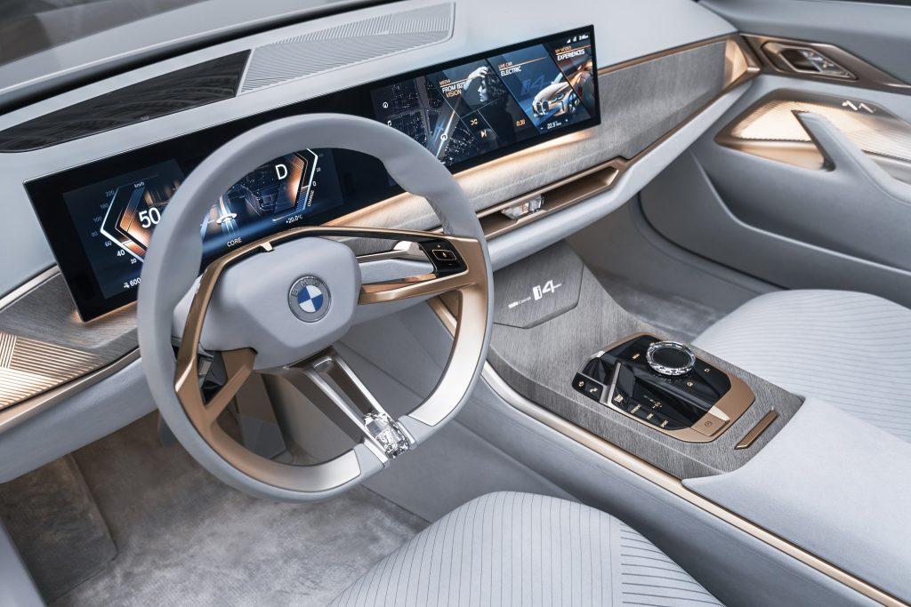 BMW Concept i4 Kabin Kısmı