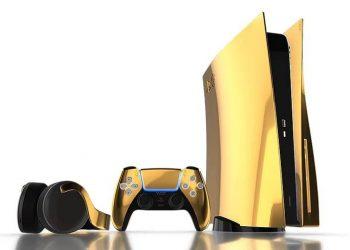 24 Ayar altın kaplamalı PlayStation 5 üretildi!