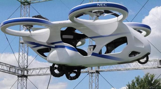 Japon Firma, İnsanlı Uçan Araba Testini Bitirdi! Büyük Yenilik..