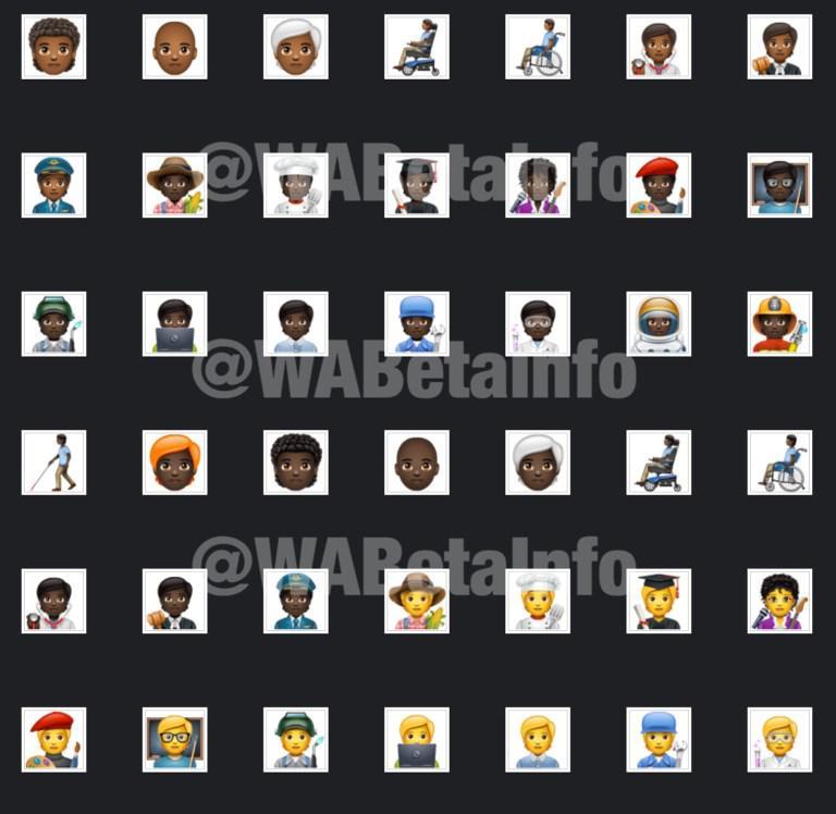 WhatsApp için 138 yeni emoji geliyor!