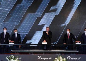 Ülkemizin ilk entegre güneş paneli fabrikası kuruldu!