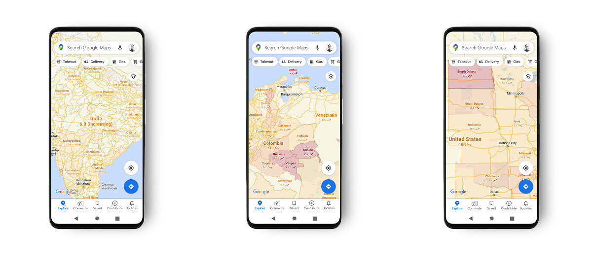 COVID-19 Verileri Google Haritalarda Yer Alacak!