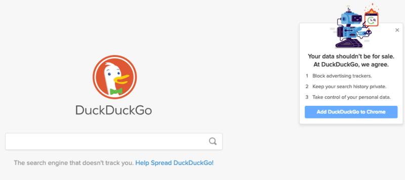 Gizlilik İlkesi İle Bilinen ''DuckDuckGo'' Işık Saçıyor!