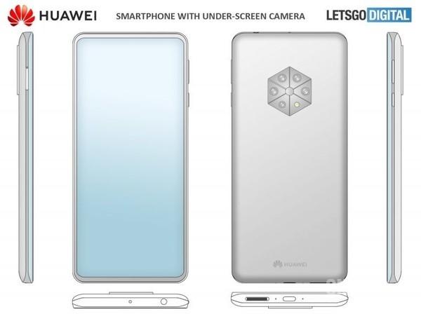 Huawei'den Kamera Alanında Yeni Patent!