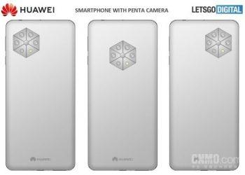 Huawei'nin Altı Arka Kameralı Telefonu Göz Alıyor!