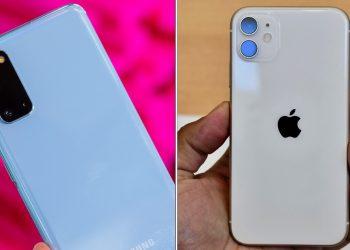 iPhone 11 vs Samsung S20 Karşılaştırılması! Apple ve Samsung'un amiral gemisi telefonları karşılaştırıldı.