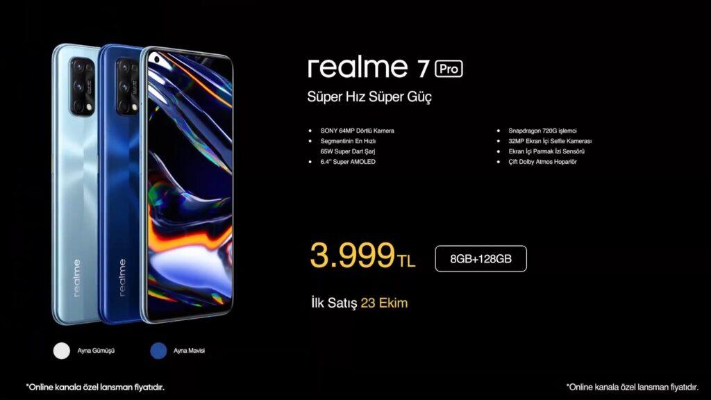 Realme 7 Pro Türkiye Lansmanı Yapıldı!