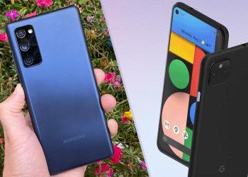 Samsung Galaxy S20 FE vs. Google Pixel 5 Karşılaştırma!