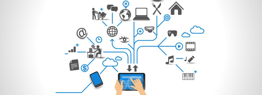 Nesnelerin interneti,alışılagelmiş bilgi işlem cihazlarından ayrılan, ancak veri göndermek, almak veya her iki işlemi de aynı anda göndermek için internete bağlı olan elektronik cihazlardan oluşan bir ekosistemdir. Bu tanım, buzdolabı ve mikrodalga fırınlar gibi günlük yaşamın bir parçası olan cihazların internet bağlantılı akıllı sürümlerini de kapsar. Sağlık, ulaşım gibi sektörlerine de dönüştüren bu sistemler teknoloji dünyasını domine ediyor. Şu anda mobil uygulama gelişimi dünyasındaki en yaygın teknoloji de nesnelerin internetidir. Bu teknoloji tüm bunlara ek olarakakıllı evvegiyilebilirler teknolojilerde dahil olmak üzer en basittüketici tabanlı uygulamalar,endüstriyel çözümlergibi sektörlerde bile tüketicilerin internet özellikli cihazlar ile nasıl yaşadıklarını, çalıştıklarını ve etkileşime nasıl gireceğini yavaş yavaş değiştiriyor. Daha spesifik olarak değinmek gerekirse,makine öğrenimiveyapay zekagibi en son teknolojilerden yararlanmayı da amaçlayan iOT(internet of things),standart İnternet destekli fiziksel cihazların ötesinde bağlantıyı genişletmeyi amaçlamaktadır. İnternet olmayan bir fiziksel cihazın geniş bir yelpazesine; kahve makineleri, çamaşır makineleri gibi günlük nesnelere, mobil cihazlar aracılığıyla uzaktan bağlanabilir hale getirir. Nesnelerin İnterneti Nasıl Çalışır? Nesnelerin internetiteknolojisinin en temelinde veri toplayan cihazlar vardır. İnternete bağlı cihazlar geniş güvenlik protokolleri ile korunduğundan her biri bir IP adresine sahiptir. İster akıllı binalardaki sıcaklık ayarı yapan sensörlerden elde edilmiş veriler olsun ister adımlarınızın verileri tutan cihazlar olsun, bu verilerin her biri çeşitli şekillerde ele alınabilen, toplanması gereken, işlenmesi, filtrelenmesi ve analiz edilmesi gerektireceğinden böyle cihazlara ihtiyaç olur. Böylesine bir gereklilik birnesnelerin internetiekosistemi için şunları gerektirir ve bu ekosistemin içinde barındırır: Veri toplayan cihazlar Cihaz yönetimi Bağlanabilirlik optimizasyonu Kullan