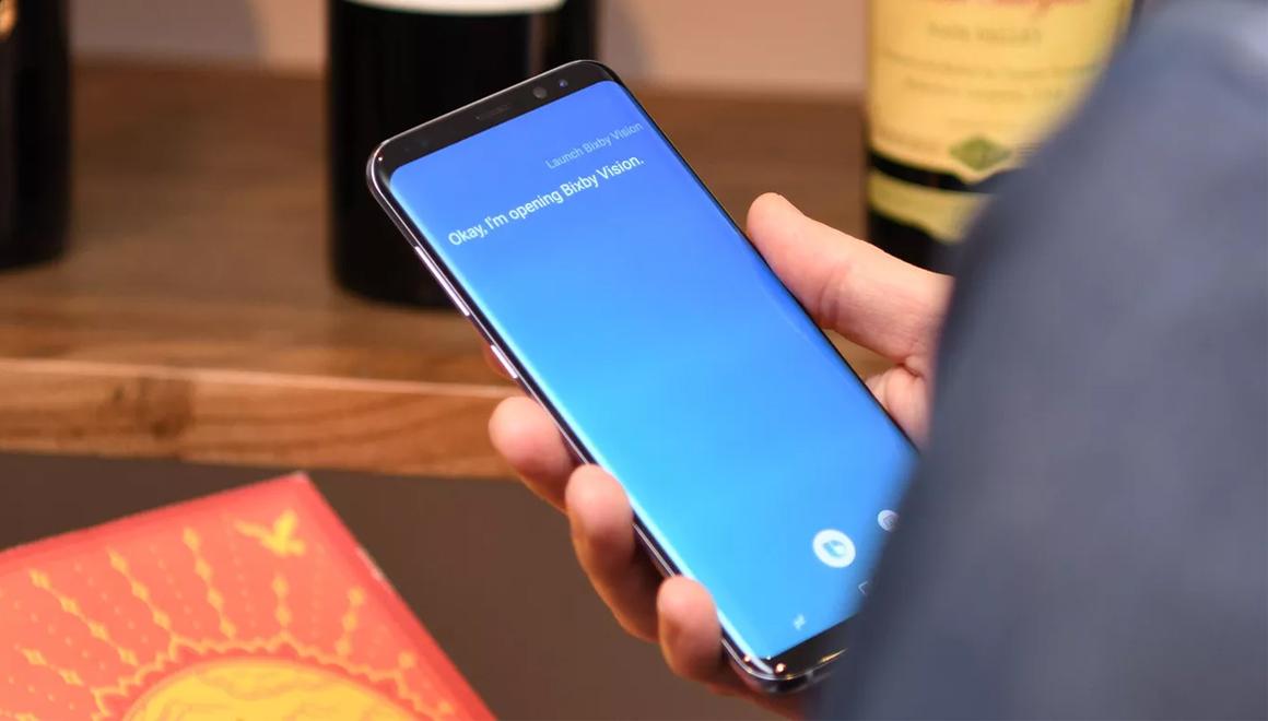 Samsung Galaxy telefonlarda Bixby tuşu