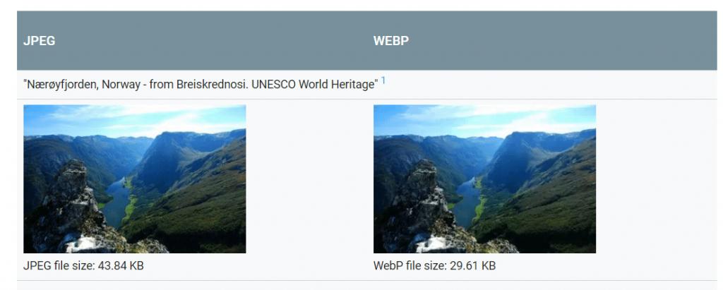 WebP Nedir? WebP Avantajları Nelerdir ?