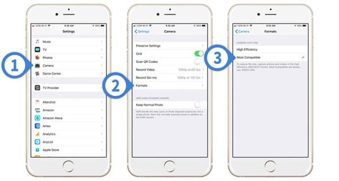 İPhone Cihazlarla Fotoğraf Ve Video Formatı Nasıl Değiştirilir?