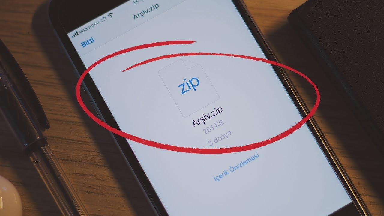 iPhone'da RAR ve ZIP Dosyası Nasıl Açılır?