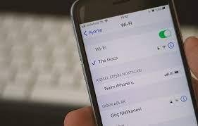 iPhone WiFi Şifresi